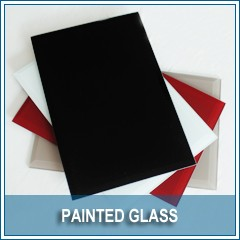 Glass Frosting, Decorative Frosted Glass of Various Colors