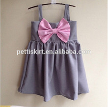 Children's Plain Frocks Kids Sweet Cotton Blank Dress Design
