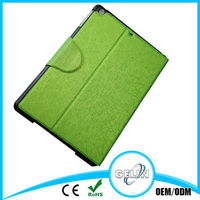 hair line leather case for new ipad