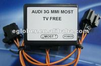 Fiber Optical MOST tv free for AUDI A4 A5 Q5 A6 A8 Q7 with 3g 4g mmi system