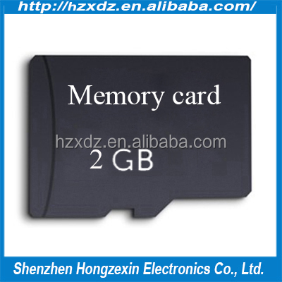 Real capacity TF memory card mobile SD 2GB cards high speed