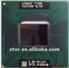 Hot Sale Intel Core 2 Duo T7200 SL9SF Old Processor For Sale