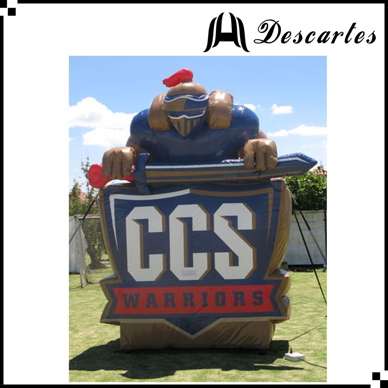 Oxford Giant Inflatable Replica CCS Warriors For Sports Events Publicity
