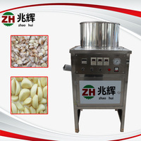 electric Dry Garlic skin removing machine garlic peeling machine shallot onion skin peeler