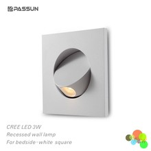 recessed rotatable decoration wall light