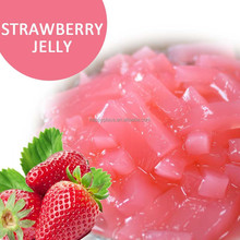 Strawberry Nata de coco for milk tea or bubble tea