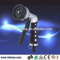 Factory price adjustable garden water best high pressure hose nozzle