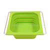 Iron Handle Silicone Collapsible Bowl Washing Up Bowl