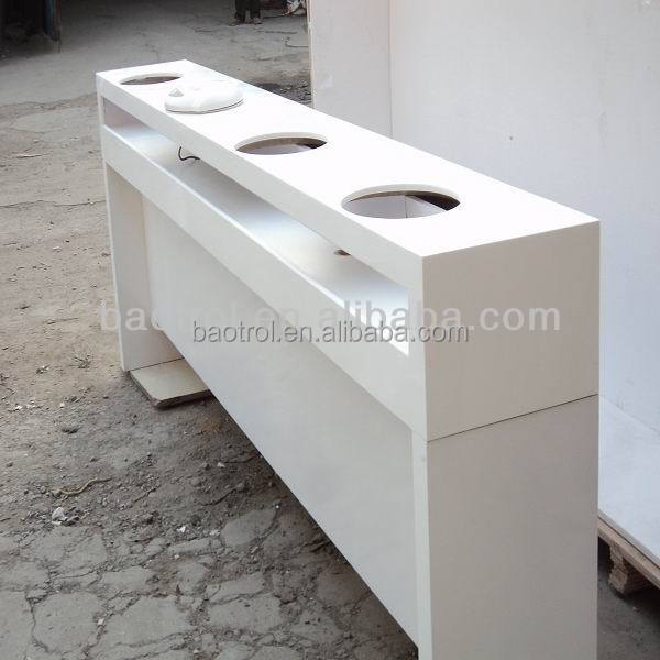 white nail manicure table nail table,beauty salon furniture manicure table nail station