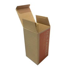 Creative Custom Made Brown Kraft Paper Packaging Box