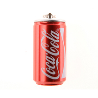 Bulk items novelty Coke shaped Metal flash drives usb 16gb 64gb usb stick drive promotion