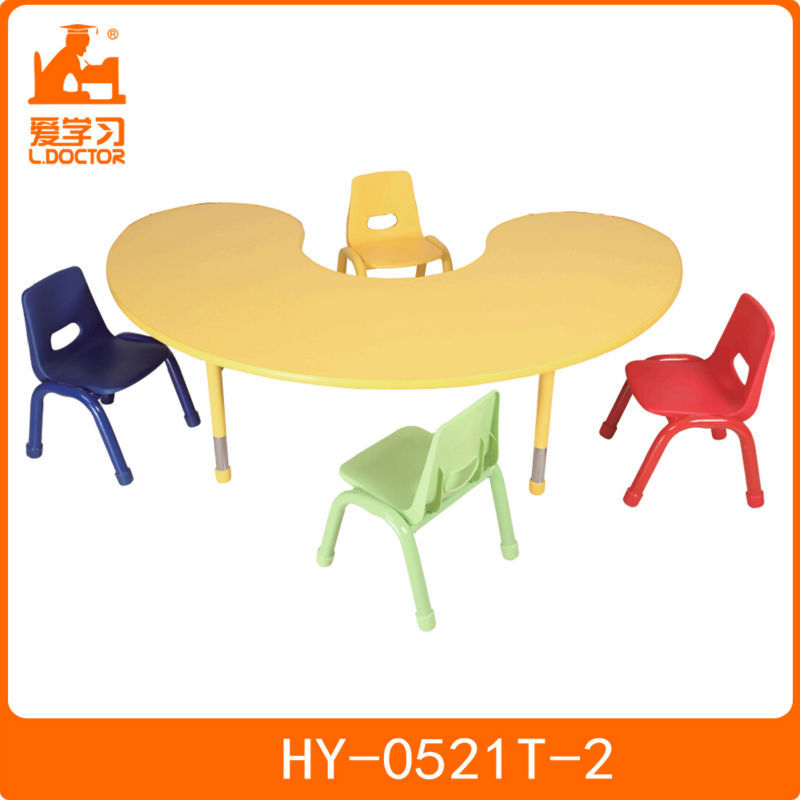 Hot sale kids furniture study table and chairs