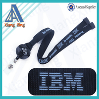 Custom Logo Safety ID Badge Retractable Lanyard
