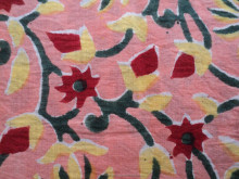 hand block printed cotton fabrics with vegetable dyes and rapid prints sanganeri bagroo prints hand block fabrics