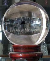 large size 400mm-900mm glass ball and glass sphere clear AAA quality