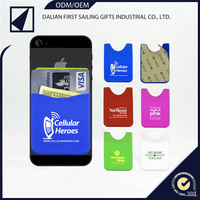 Promotional gift silicone case,mobile accessories,phone pocket