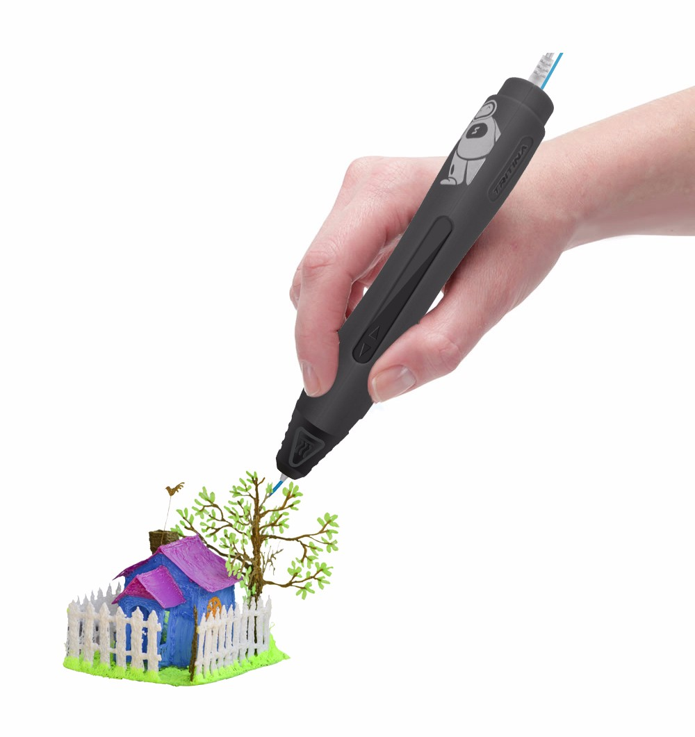 2016 Hotsale Tritina Geek IV 3D printing pen Real USB Port Charging kids 3d drawing pen