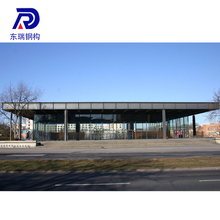 China manufacturer Fire proof and water proof steel structure for car parking