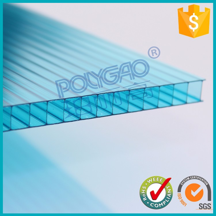 Widely applicable 4mm polycarbonate sheet singapore for Vegetable Greenhouse