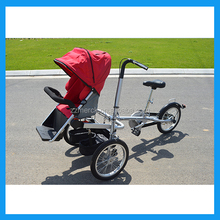 Folding Mother And baby Pushchair