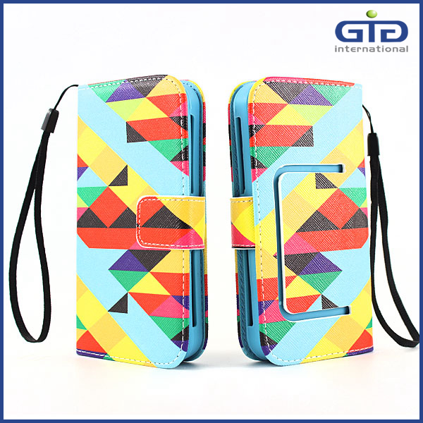 "High Quality Multi-function Universal Flip Case, For 3.5"", 4.0"", 4.5"", 5.0"", 5.5"", 6.0"" Cell Phone"