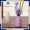 Thailand popular air freshener ceramic bottle aroma scented reed diffuser with rattan ball
