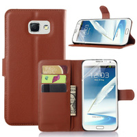 Strong protector pouch for Samsung S7 mobile cover;smooth wallet leather case for Samsung S7 mobile phone