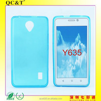 2015 new product Wholesale clear tpu case Soft TPU Case Skin Cover For Huawei Y635