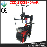 2014 new used tire changer machine for sale C233GB-DAAR Tilt black wheel balance weights