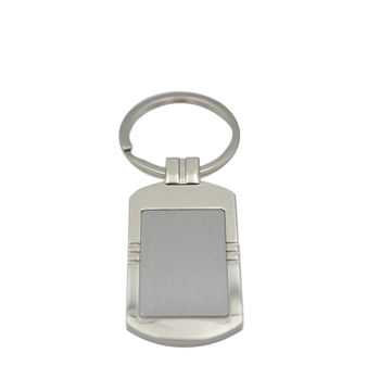 Custom design make photo cheap sublimation no minimum zinc alloy metal blank keychains