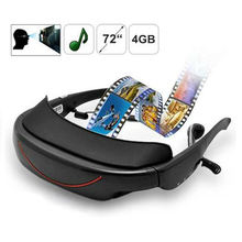 72 Inch Virtual Display 2d Portable Video Glasses,Support Av In Function,vg320