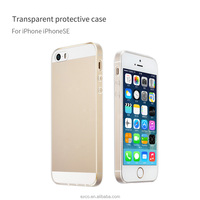 Factory in Guangzhou EXCO Transparent soft Ultra-slim tpu phone case cover for iPhone5 SE