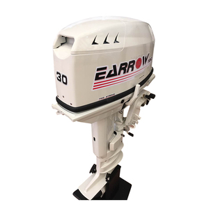 Powerful ISO CE certified electric start durable Outboard Motor similar with suzuki