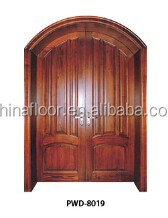 strong wear resistance and Good quality interlocking solid wood door