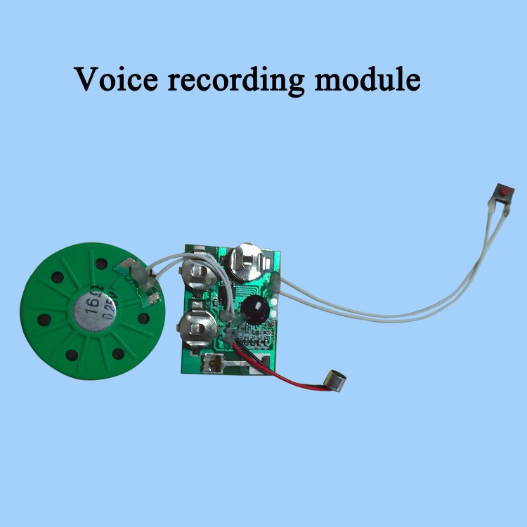 Greeting card mini voice sound audio recordable sound chips