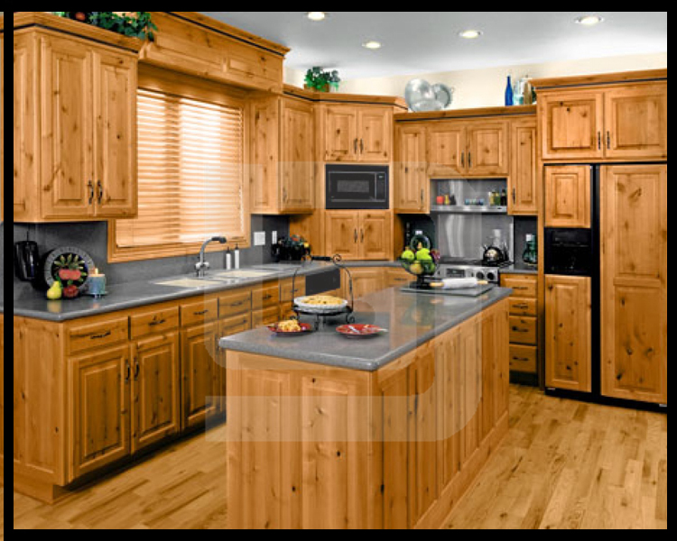 Prefab home china taishan professional wooden kitchen - Fotos de cocinas americanas ...