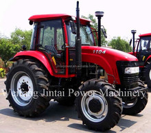 CHINA factory supply 110HP tractor 4X4 hot sale 2014 JT1104