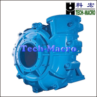 Light duty centrifugal ceramic slurry pump for concentrate and tailing processing in concentration plant