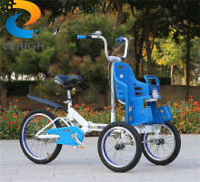 New models two seats baby tricycle