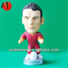 Customized Plastic 1/6 scale Action Figure Football Player