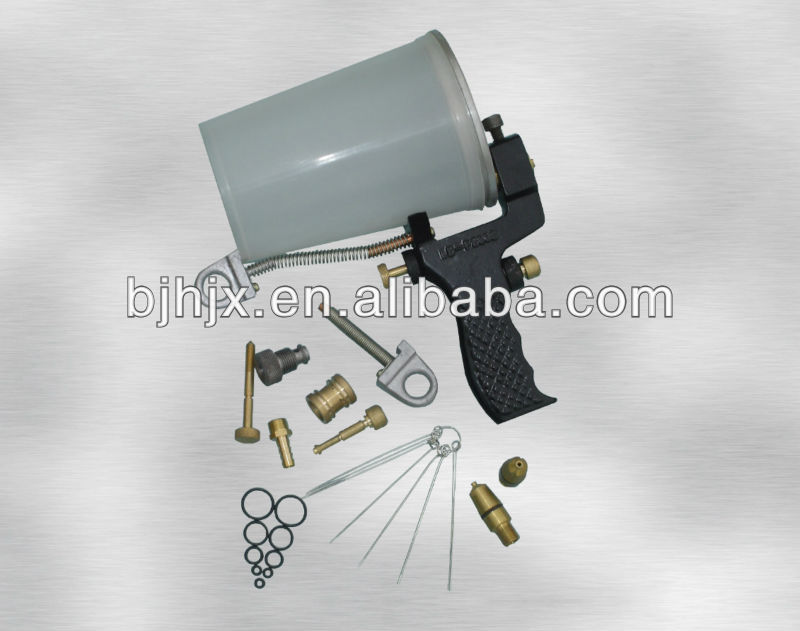 Pneumatic gelcoat/resin spray gun