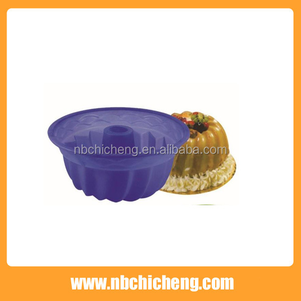 Kitchen tools Silicone Pumpkin Shape Cake Mold Muffin Baking Pan