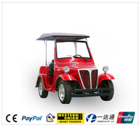 low cost low speed theme park pickup 4wd electric vehicle