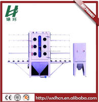 Vertical glass sand blasting machine