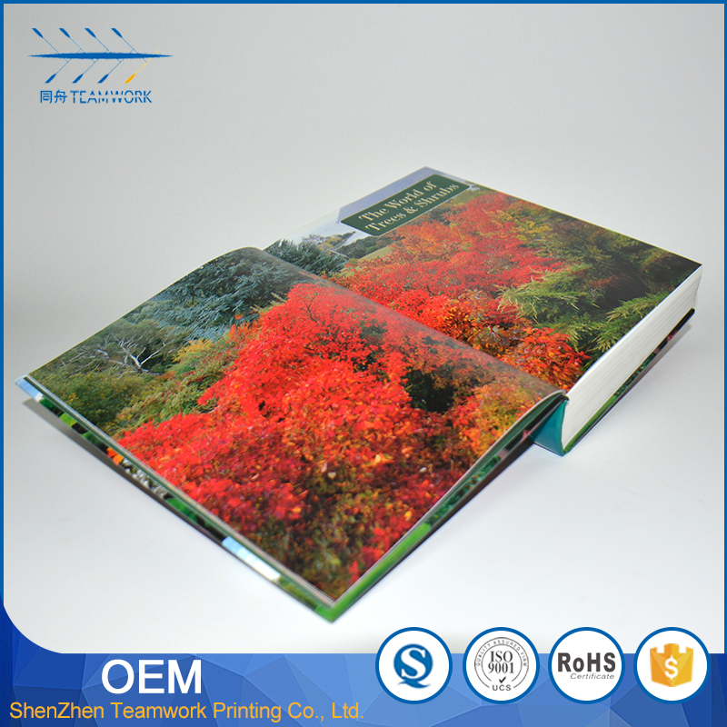 popular customized cheap design book printing on damand
