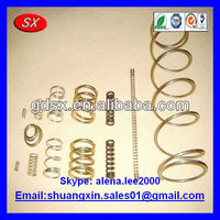 retractable coiled spring,metal nickel plated small coil spring