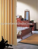 China supplier of hot sale pvc glass interior folding door