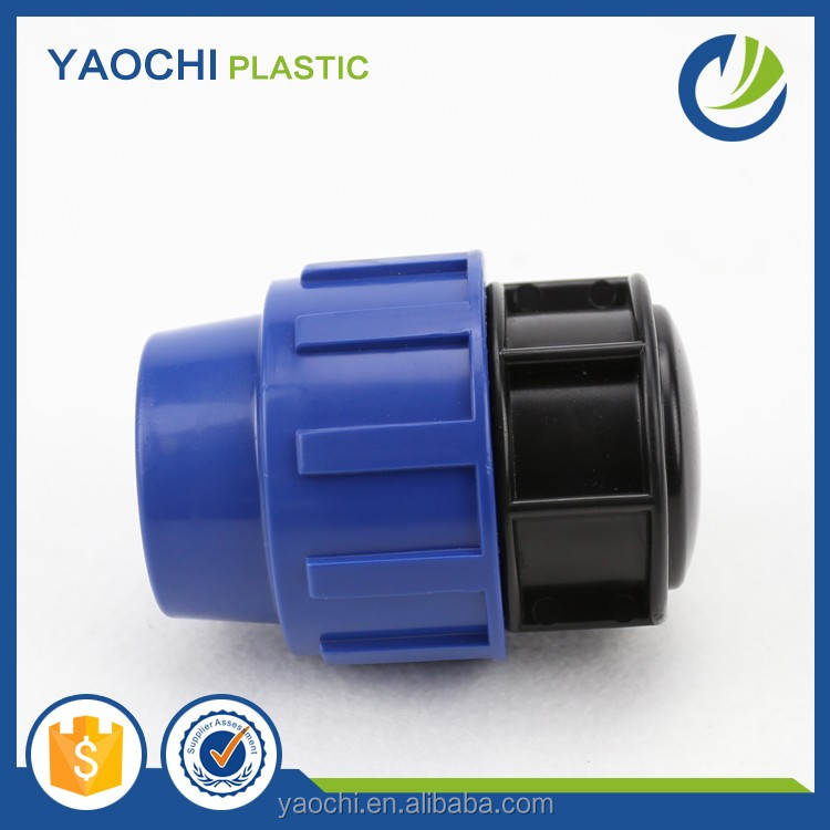china manufacturer bets price pp compression fittings end cap