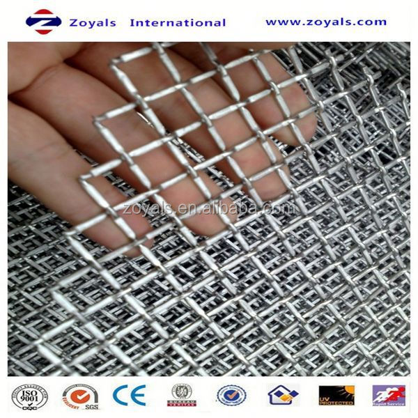 different types of crimped wire mesh Exporter ISO9001