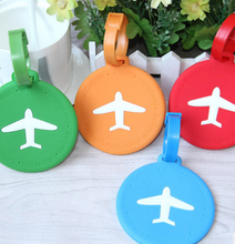 Travel goods consignment silicone luggage tag tag listing boarding card sets creative travel abroad